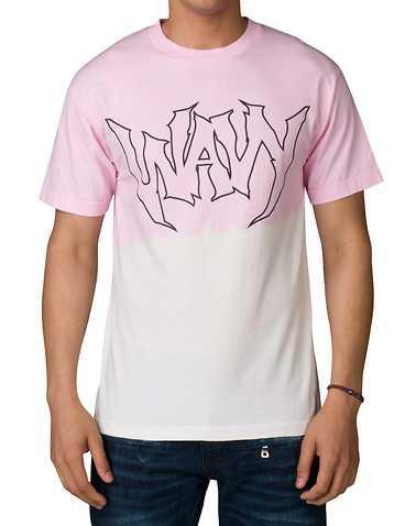 WAVY MENS Pink Clothing / Tops