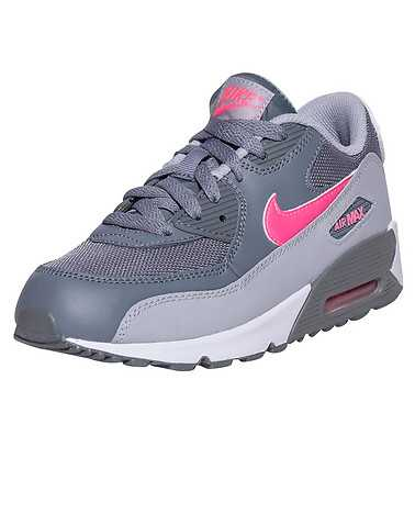 NIKE BOYS Grey Footwear / Sneakers 2Y