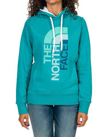 THE NORTH FACE WOMENS Medium Green Clothing / Sweatshirts L