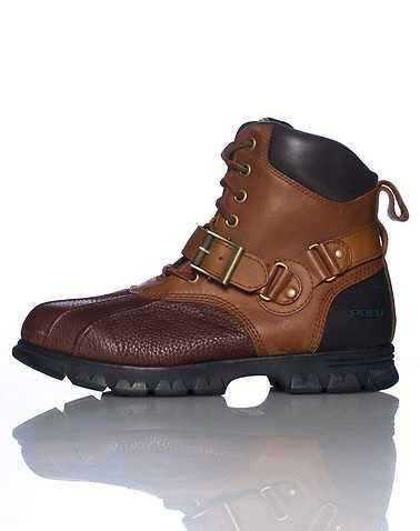 POLO FOOTWEAR MENS Brown Footwear / Boots 9