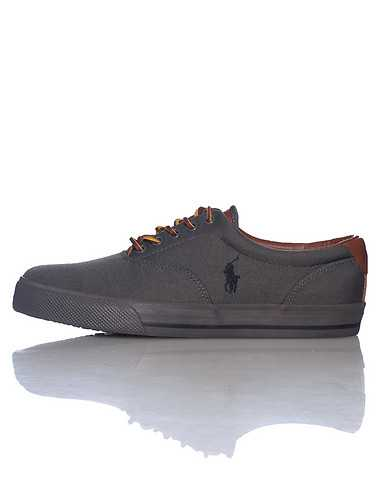 POLO FOOTWEAR MENS Dark Grey Footwear / Casual 13