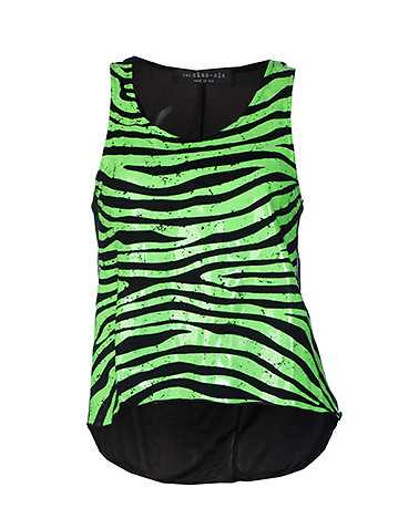 ESSENTIALS WOMENS Green Clothing / Tank Tops S