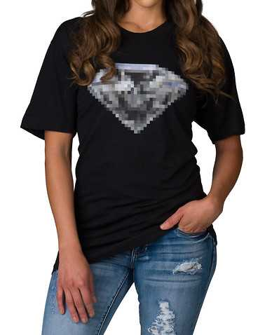 DIAMOND SUPPLY WOMEN WOMENS Black Clothing / Tops