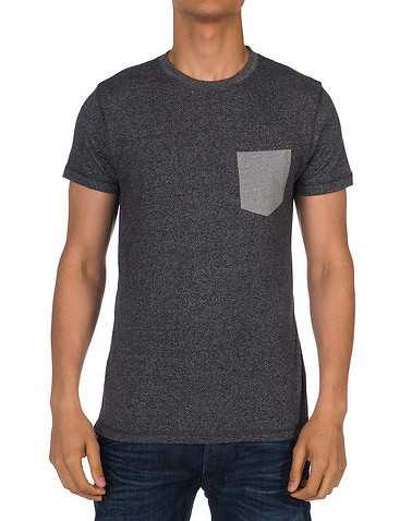 ARTISTRY IN MOTION MENS Grey Clothing / Tees and Polos S