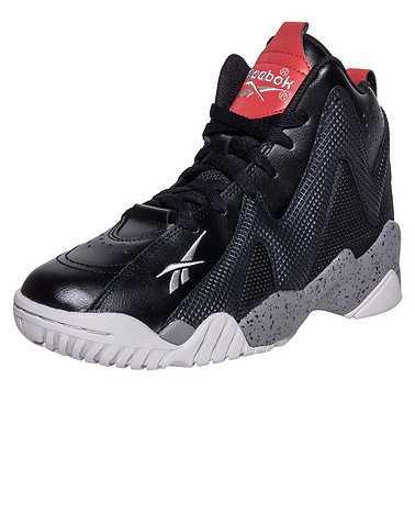 REEBOK BOYS Black Footwear / Sneakers