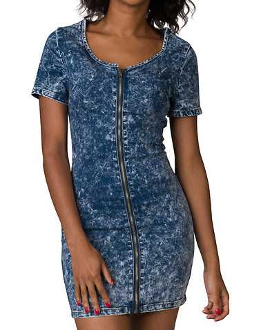 ESSENTIALS WOMENS Blue Clothing / Dresses