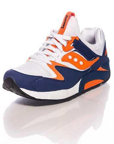 SAUCONY MENS Navy Footwear / Sneakers
