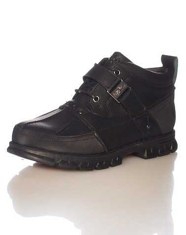POLO FOOTWEAR MENS Black Footwear / Boots 7.5