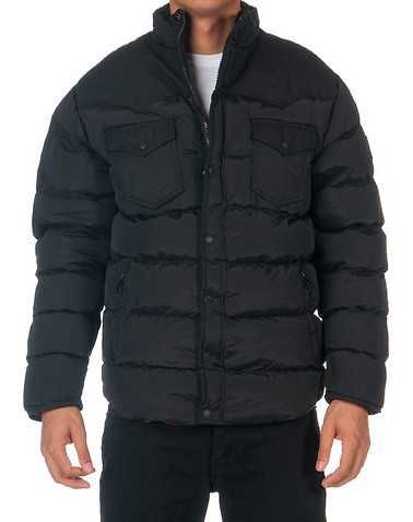 DECIBEL MENS Black Clothing / Outerwear XL