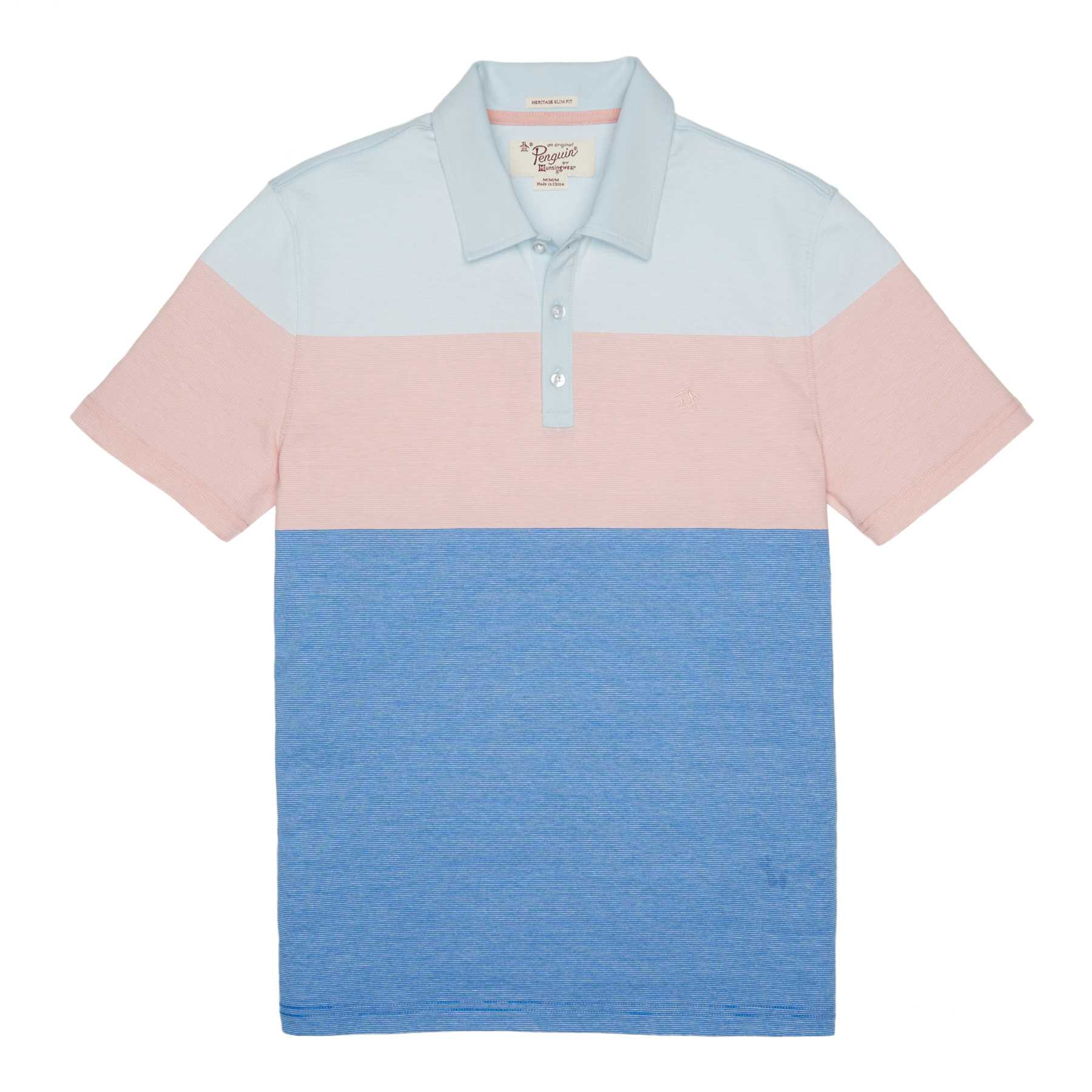 Original Penguin STRIPE COLORBLOCK POLO