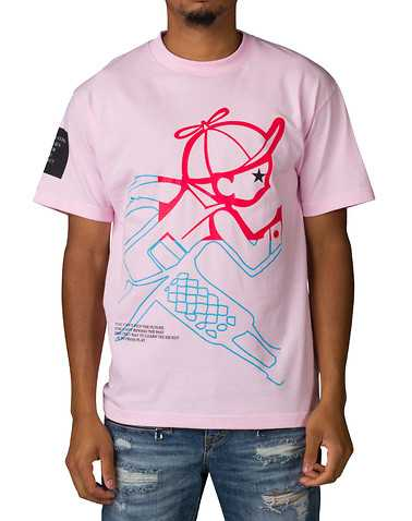 PLAY CLOTHS MENS Pink Clothing / Tops L