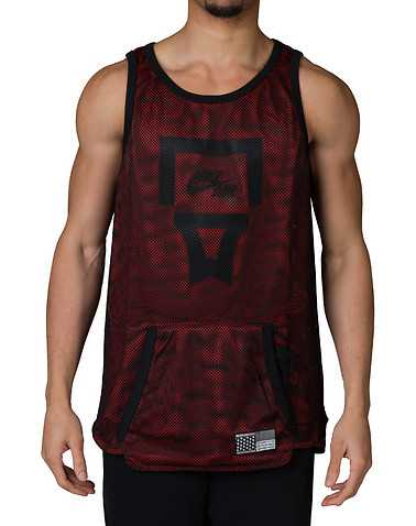 NIKE SPORTSWEAR MENS Red Clothing / Tank Tops