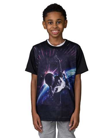 JORDAN BOYS Black Clothing / Short Sleeve T-Shirts S