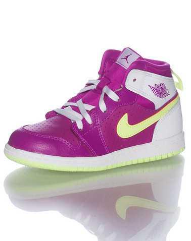 JORDAN GIRLS Medium Purple Footwear / Sneakers