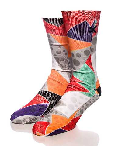 ODD SOX MENS Multi-Color Accessories / Socks One Size