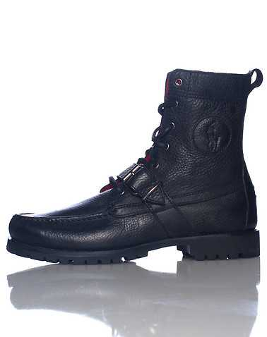 POLO FOOTWEAR MENS Black Footwear / Boots