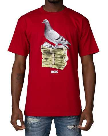 DGK MENS Red Clothing / Tops S