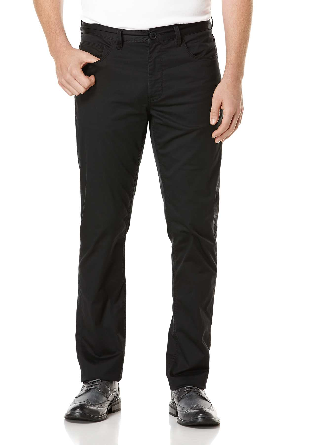 Perry Ellis Slim Fit Stretch Satin Denim