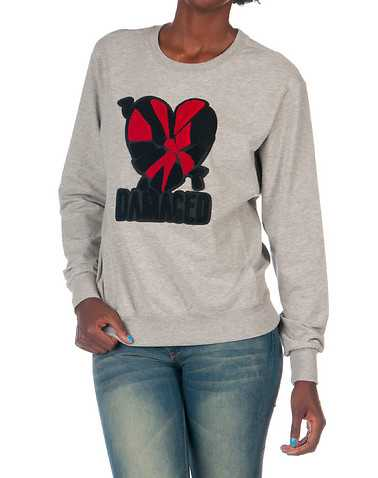 LA BELLE ROC WOMENS Grey Clothing / Sweatshirts