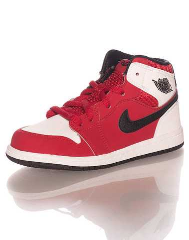 JORDAN BOYS Red Footwear / Sneakers 4C