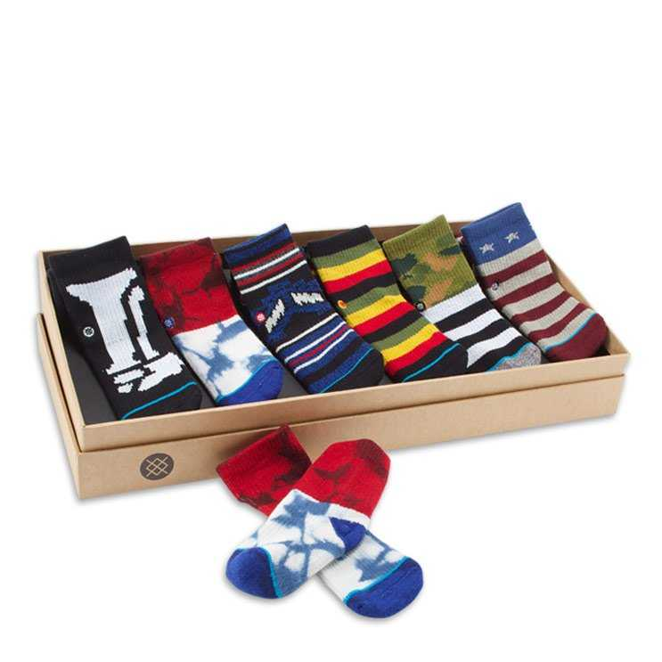 Stance Boys Box (1-2 Yr) Toddler Boys Socks