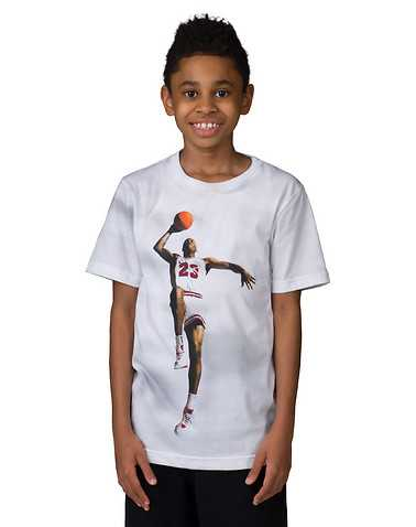 JORDAN BOYS White Clothing / Short Sleeve T-Shirts