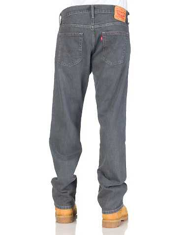 LEVIS MENS Grey Clothing / Jeans 38x34