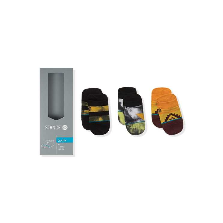 Stance Orange Pop (3-6 MO) baby boys Socks
