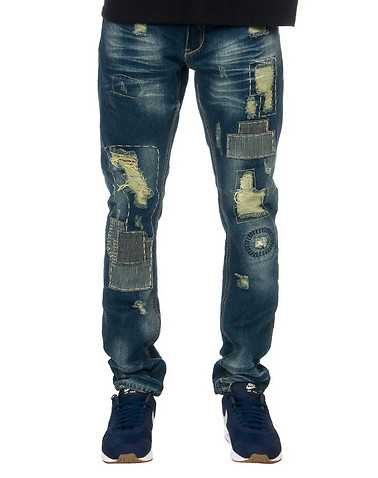 HERITAGE MENS Blue Clothing / Jeans 34x33