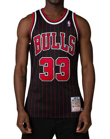 MITCHELL AND NESS MENS Black Clothing / Tank Tops S