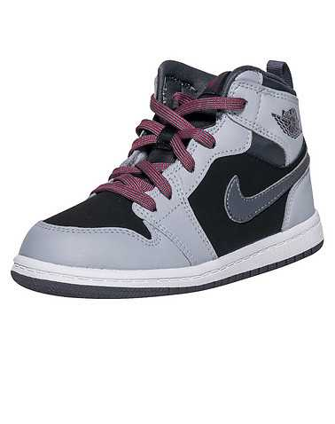 JORDAN GIRLS Grey Footwear / Sneakers