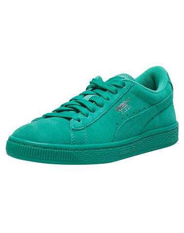PUMA GIRLS Green Footwear / Sneakers