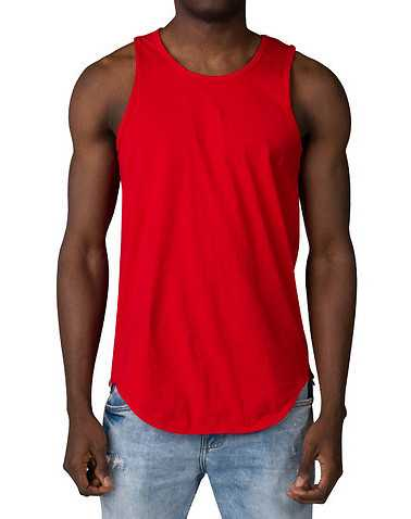 DECIBEL MENS Red Clothing / Tank Tops