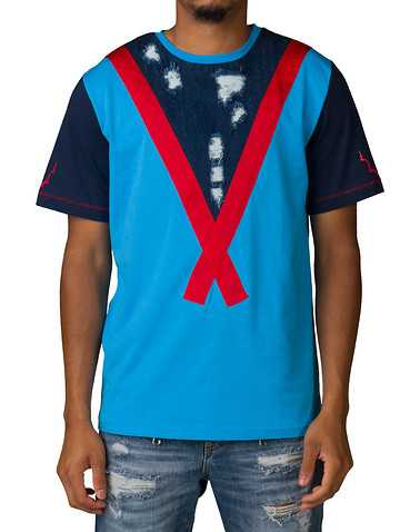 KOO DOO MENS Blue Clothing / Tops
