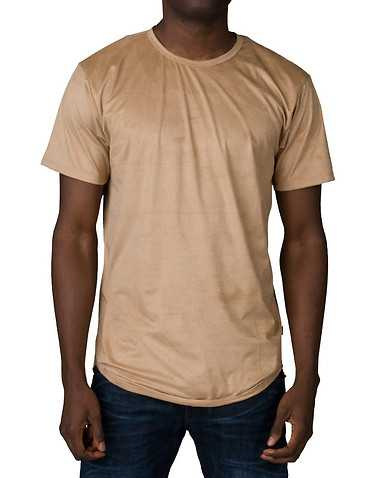 EPTM MENS Dark Beige Clothing / Tops