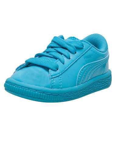 PUMA GIRLS Medium Blue Footwear / Sneakers