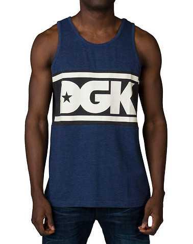 DGKENS Navy Clothing / Tank Tops