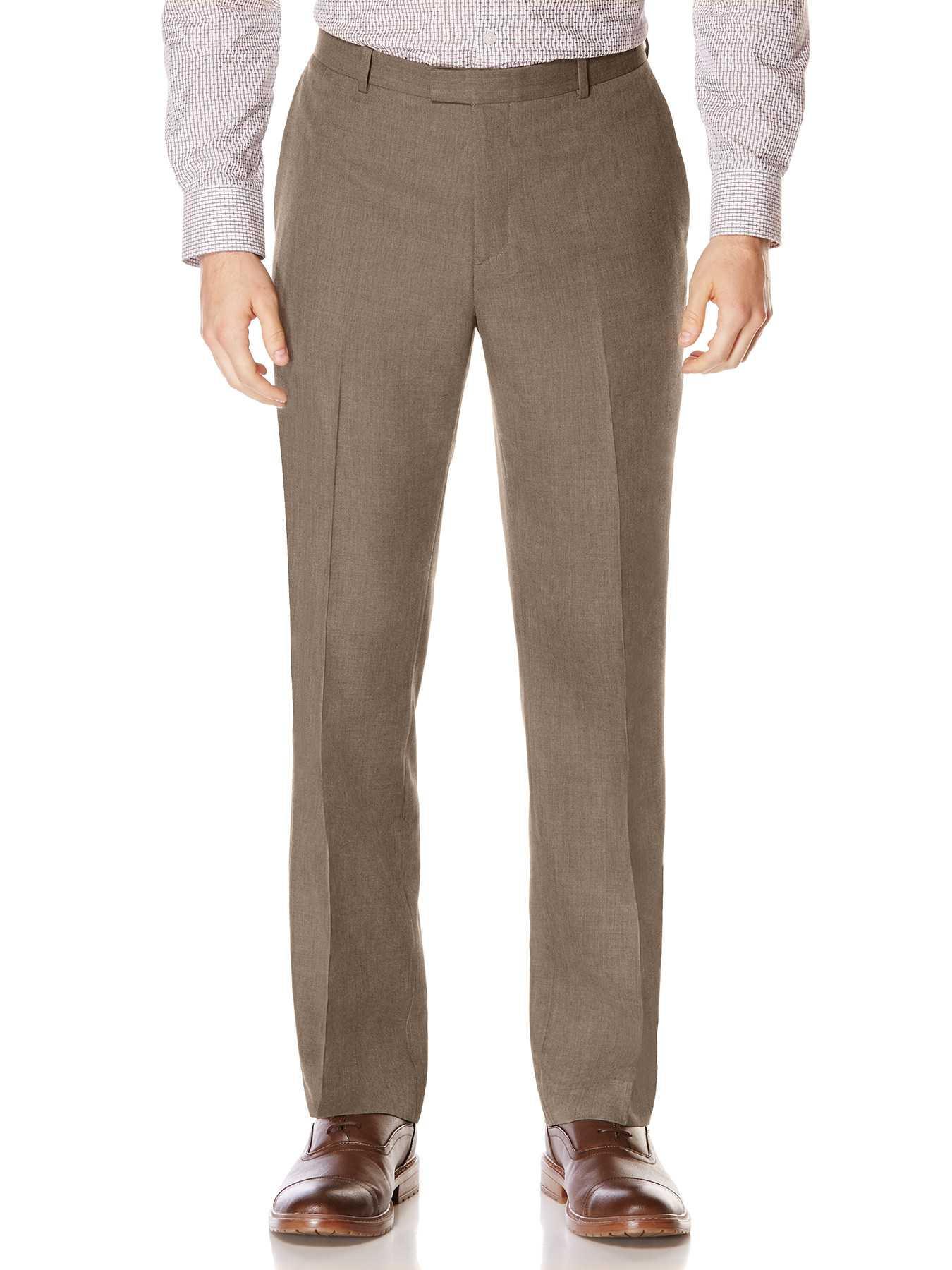 Perry Ellis Subtle Pattern Twill Suit Pant