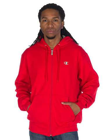 CHAMPIONENS Red Clothing / Hoodies