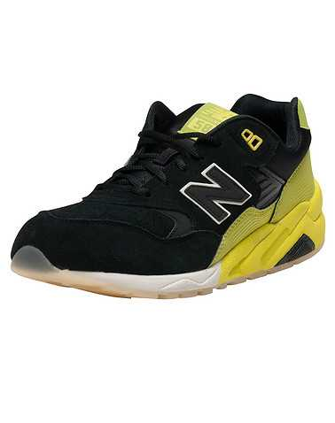 NEW BALANCE MENS Black Footwear / Sneakers