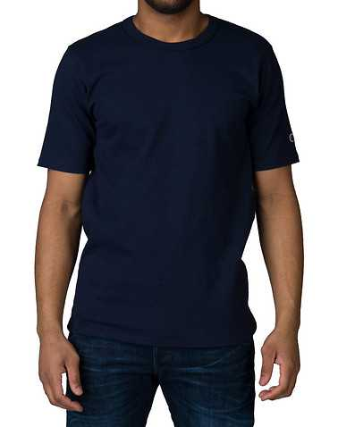 CHAMPION MENS Navy Clothing / Tops L