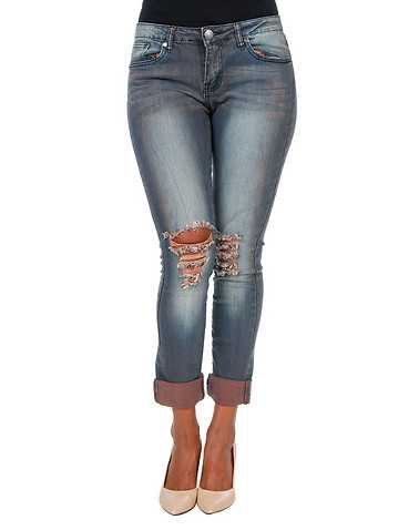 ESSENTIALS WOMENS Grey Clothing / Jeans