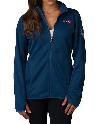 THE NORTH FACE WOMENS Dark Blue Clothing / Light Jackets