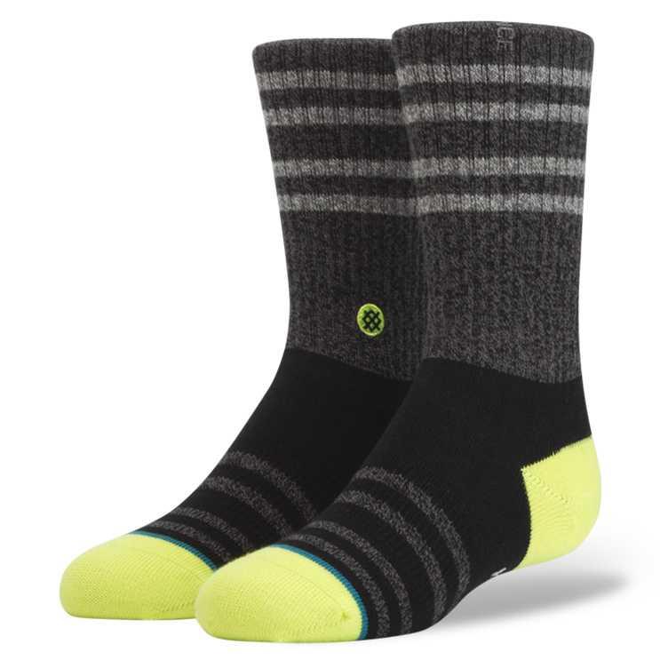 Stance Falcon Boys BLK S Boys Socks