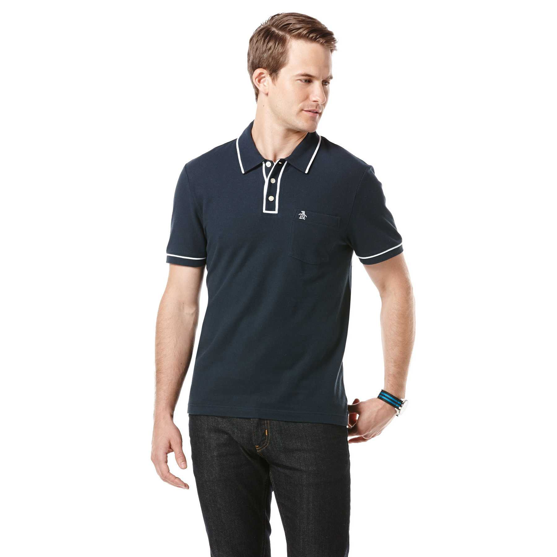 Original Penguin BIG AND TALL EARL POLO