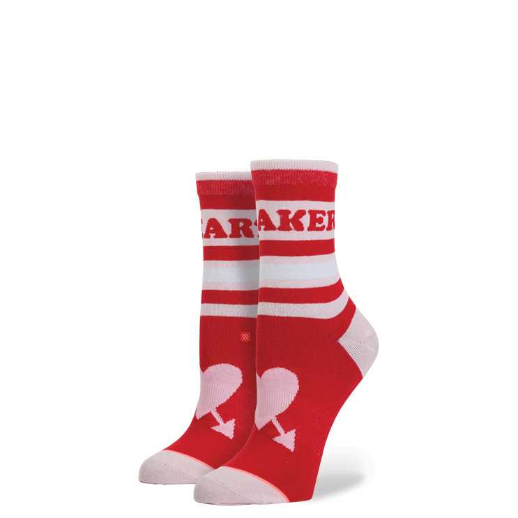 Stance Heart Breaker RED M girls Socks