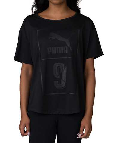 PUMA WOMENS Black Clothing / Tops