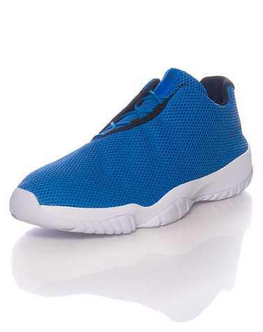 JORDAN MENS Blue Footwear / Sneakers