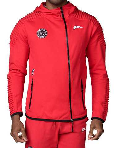 POST GAME MENS Red Clothing / Sweatshirts XL