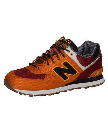 NEW BALANCE MENS Orange Footwear / Sneakers